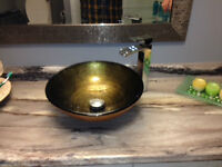 BATHROOM SINK BLOW-OUT
