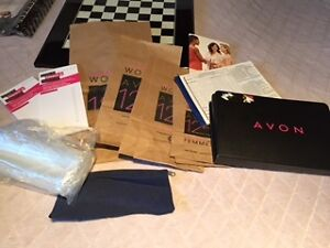 AVON Seller Supplies bags, invoicing & more Kitchener / Waterloo Kitchener Area image 1