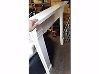 White fireplace surround - buyer collect £20.00