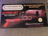 Nintendo NES console boxed like new £120