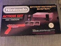 Nintendo NES console boxed like new £120