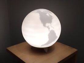 Earth Globe light - illuminates and rotates