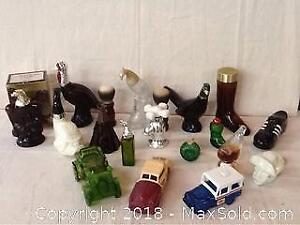 Large Avon Decanter Collection