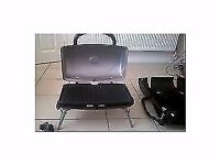 George Foreman Grill/BBQ. Portable gas for camping