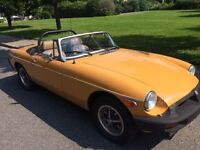 1975 MGB - in wonderful condition