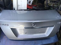 mercedes c class w204 saloon bootlid silver for sale call us