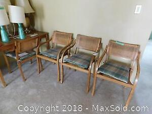 Set Of 4 Dining Chairs - B
