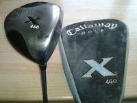 Callaway golf x 460, 9.5 Tour Fujikura 26.3 platform series Flex 350 T.P Mens tour driver, ex con.
