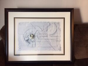Two Framed Abstract Picture