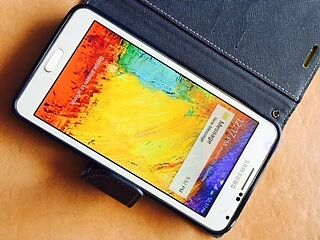 Samsung Galaxy NOTE 3 White 32GB 4G Lte Unlocked MINT Con Coopers Plains Brisbane South West Preview