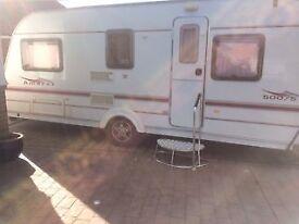 Coachman Amara 500/5. 2005 with mover