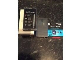 Samsung note 4 32gb black unlocked plus s view case & 8gb memory card. Excellent condition and boxed