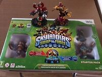 Skylanders Swap Force Starter Pack for Wii, + 2 addtional skylanders