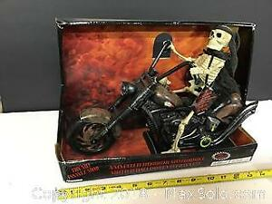 Skeleton Biker animated