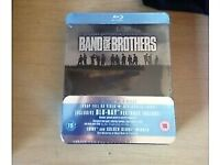 Band Of Brothers - Blue Ray Disc - Tin Box - Brand New!!