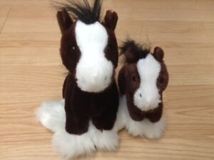 Webkinz mother horse and foal!