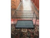 Medium to Large Black Pet Cage