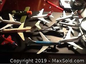 Lot Of Model Airplanes