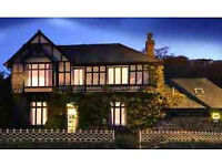Live-in couple wanted for award-winning family-run B&B/Guesthouse in beautiful North West Wales