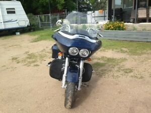 2012 Harley Road Glide Custom c/w 120ci Engine