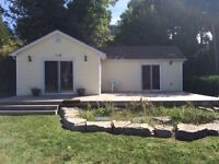 Kincardine rental - winterized waterfront cottage for rent