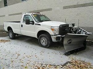 2016 Ford F-350 REG CAB 4X4 DIESEL WITH V PLOW