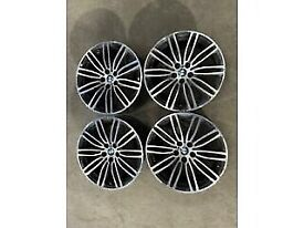 BMW 5 series G30 Msport 19inch alloy wheels set x4 with tyres available call for any info