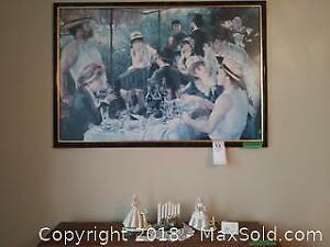 Renoir Print And Ceramics A