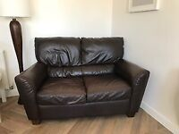 Free Two Seater Faux Leather sofa