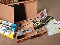 Windsor and Newton art box