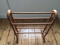 Wooden clothes / towel stand