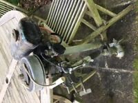 Seagull outboard engine. Suitable for small tender. Highly reliable engine.