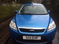 Ford Focus Sport 2011. Blue. Good condition.