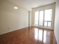 Large 1 Bedroom available in prime Sherbourne and Bloor area!