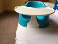 BUMBO Seat with Tray Table in Blue