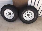 Tyres and rims 235/85 R16 4x150 Benowa Gold Coast City Preview