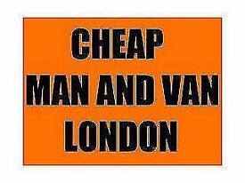 Cheap Man and van from £12.50 per hour...