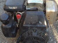 Honda 5,5 hp gas motor for sale