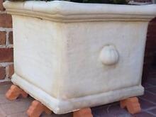 Terracotta/Stone garden pots x 2 Nelson Bay Port Stephens Area Preview