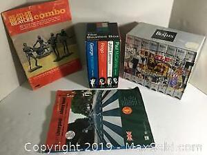 Beatles Collectibles Lot