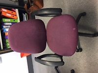 Free to good home, 2 x office chairs