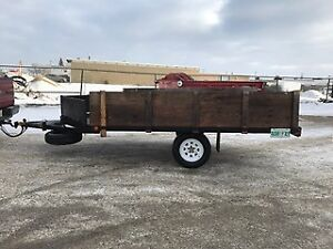 HD 2 place snowmobile trailer