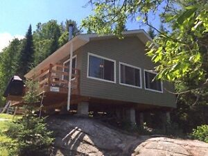 Cottage rental - boat access only on the Pickerel River