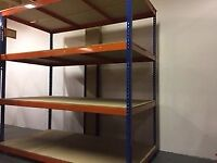 Heavy Duty WAREHOUSE SHELVING - Warehouse move / Used / Pick up only