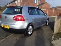 VW GOLF/58PLATE/DIESEL/DRIVES SMOOTH/JUST CHANGED CAMBELT/GOOD MILEAGE