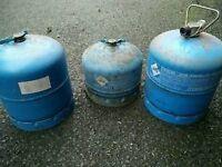 Butane gas bottles *3