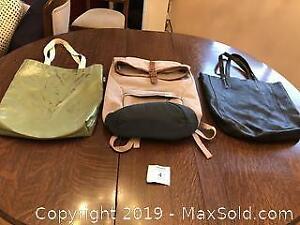 MEC, Roots & Indigo bags. A Pickup
