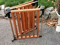 Solid Wood Custom Made Safety Gate