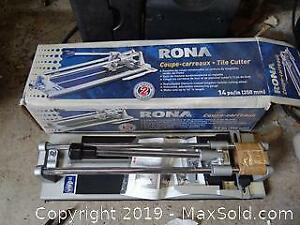 Hand Saws, Tile Cutter And More B