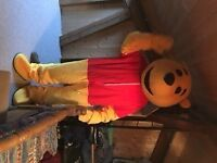 Poo bear mascot costume